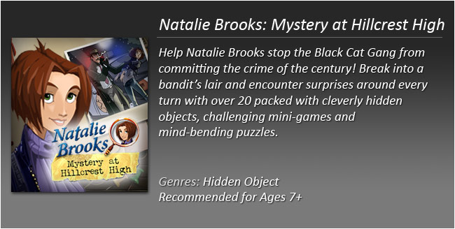 Natalie Brooks Mystery at Hillcrest High