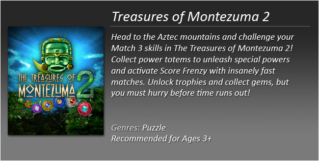 Treasures of Montezuma 2